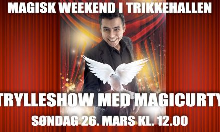 Trylleshow med MagiCurty