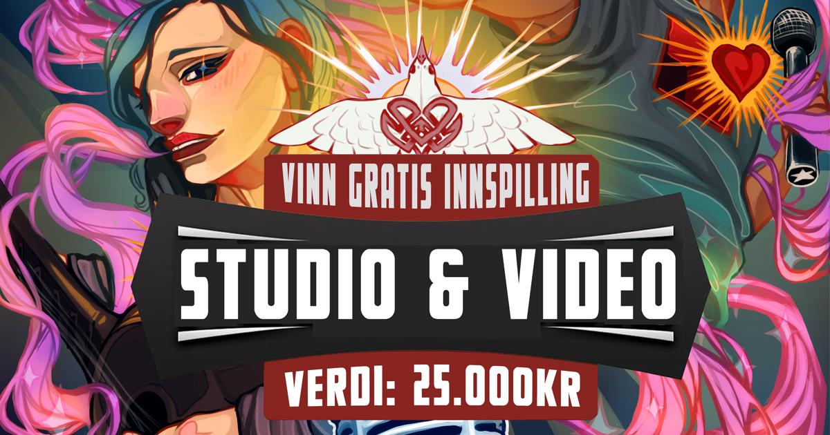 Vinn innspilling til 25.000kr (Studio & Video)