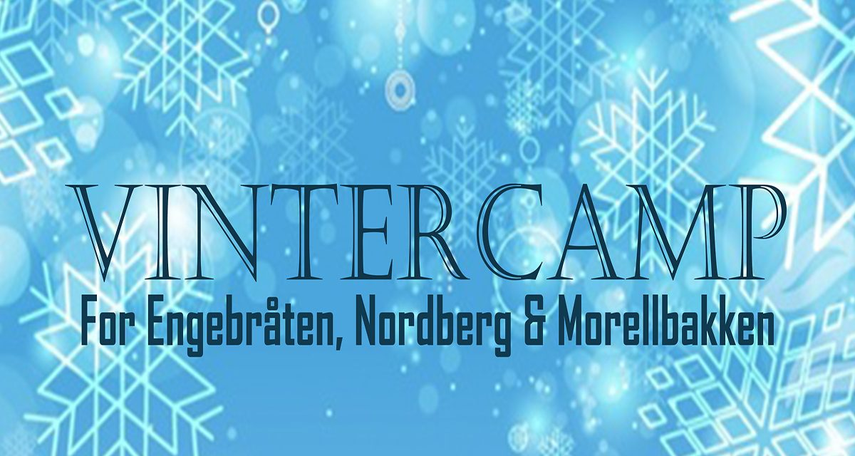 Vintercamp 20.-24. Februar 2017.