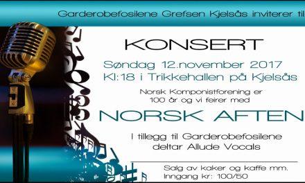 Garderobefosilene: Norsk Aften
