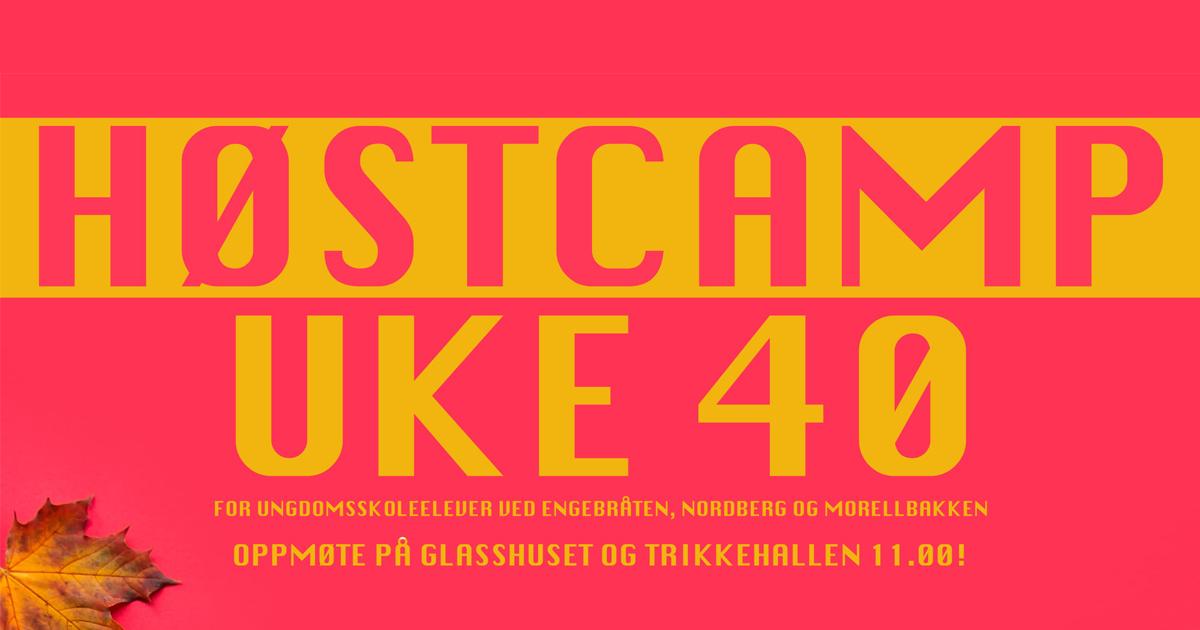 Høstcamp Uke 40