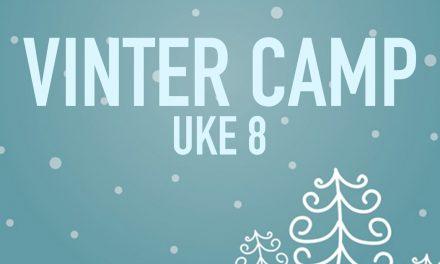 Vintercamp 18.-22. Februar 2019.