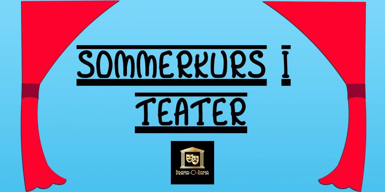 Sommerkurs i teater 8-12år (Uke 25 & 27)